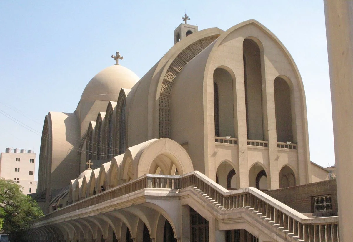 St. Mark's Coptic Orthodox Cathedral, Cairo, Egypt