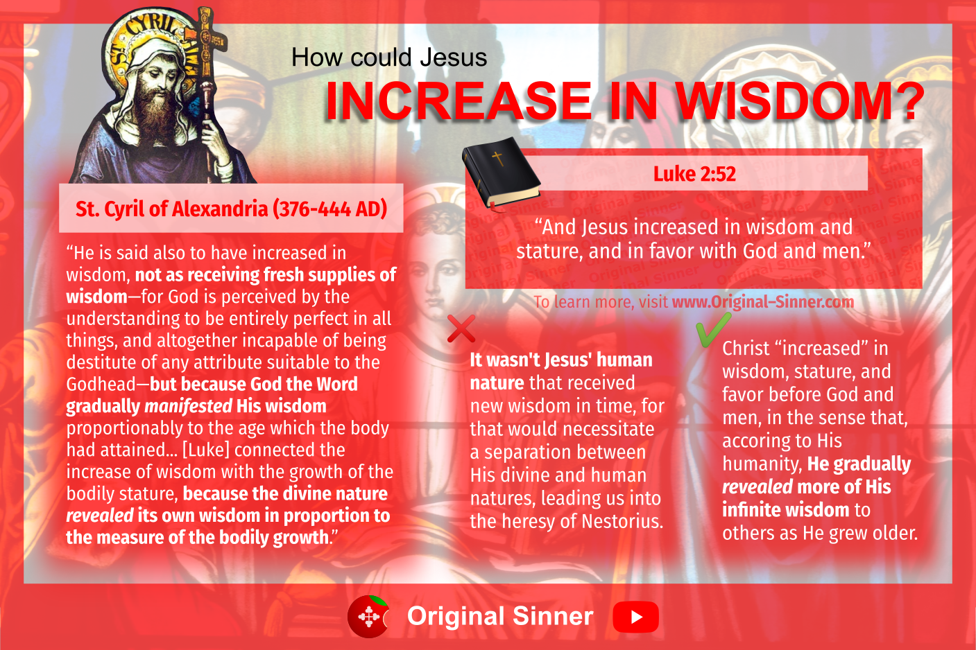 """How could Jesus increase """"in wisdom and stature?"""" An Orthodox explanation of Luke 2:52."""